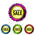 Grandiose SALE Stock Images