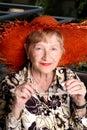 Grandma lovely Arkivbilder