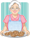 Grandma's Cookies Royalty Free Stock Image