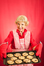 Grandmas Cookies with Copyspace Royalty Free Stock Photo