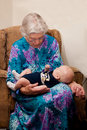 A Grandmother's Love Royalty Free Stock Photos