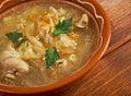 Grandmother's Sauerkraut soup Royalty Free Stock Photo