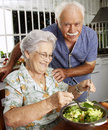 Grandparet kitchen. Stock Photography