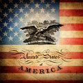 Grange usa flag independence day background Royalty Free Stock Photo