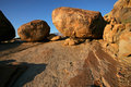 Granite boulders Royalty Free Stock Photo