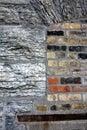 Granite and Bricks Royalty Free Stock Photo
