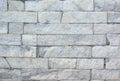 Granite bricks white wall texture blocks wall Royalty Free Stock Photo