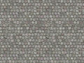 Granite cobblestoned pavement background road Stock Photo