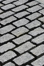 Granite cobblestones Stock Photo