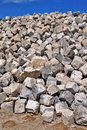 Granite cobblestones Royalty Free Stock Photo