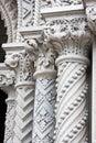 Granite Columns Royalty Free Stock Photo