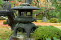 Granite lantern Royalty Free Stock Photos
