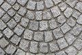 Granite pavement road cubic shape Royalty Free Stock Photo