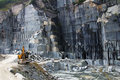 Granite quarry Royalty Free Stock Image