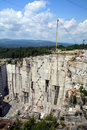 Granite Quarry Royalty Free Stock Photo