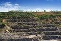 Granite quarry Royalty Free Stock Photo