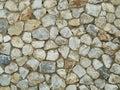 Granite rock wall pattern Royalty Free Stock Photo