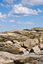 Granite rocks Stock Image