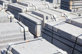 Granite slabs for laying on the sidewalk Stock Photography