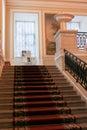 Granite staircase Gatchina Palace.
