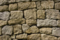 Granite stone wall Royalty Free Stock Photo
