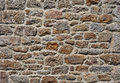 Granite stone wall Royalty Free Stock Photos