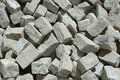 Granite stones for construction Stock Photography
