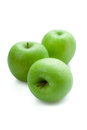 Granny smith apple on a background Stock Images