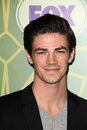Grant Gustin à la réception All-Star de RENARD, se retranchent le vert, Pasadena, CA 01-08-12 Image stock