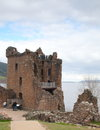 Grant Tower, Urquhart Castle Royalty Free Stock Photography
