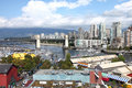 Granville Island marketplace, Vancouver BC Canada. Royalty Free Stock Images