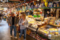 Granville Island Public Market in Vancouver, Canada Royalty Free Stock Photo