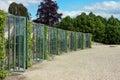 Grape greenhouses in Potsdam, Germany Royalty Free Stock Photo