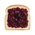 Grape Jelly on Bread