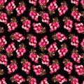Pink grape pattern