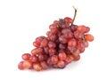 Grape on white Royalty Free Stock Photos
