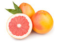 Grapefruit cut Stock Photography