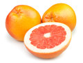 Grapefruit cut half Royalty Free Stock Images