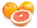 Grapefruit cut half Royalty Free Stock Photo