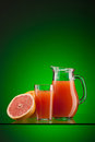 Grapefruit juice Stock Photos