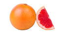 Grapefruit a piece Royalty Free Stock Photo