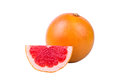 Grapefruit a piece Royalty Free Stock Photo