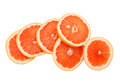 Grapefruit slices Royalty Free Stock Image