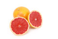 Grapefruit a in a white background Stock Photography