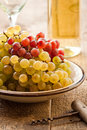 Grapes in bowl Stock Photos