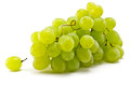 Grapes brush juicy ripe on a white background Royalty Free Stock Photos