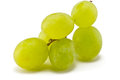 Grapes brush juicy ripe on a white background Stock Photo