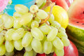 Grapes and other fruits Royalty Free Stock Photos