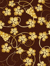 Grapevine  seamless pattern Royalty Free Stock Photo