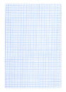 Graph paper background - blue color Royalty Free Stock Photo